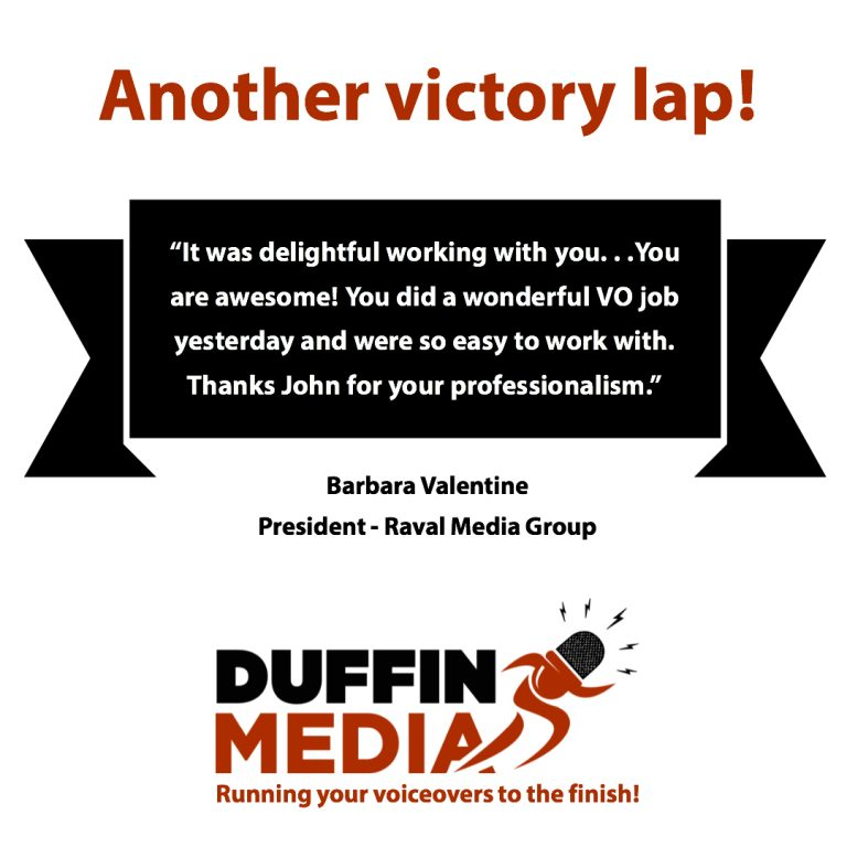 VOICEOVER DUFFINMEDIA